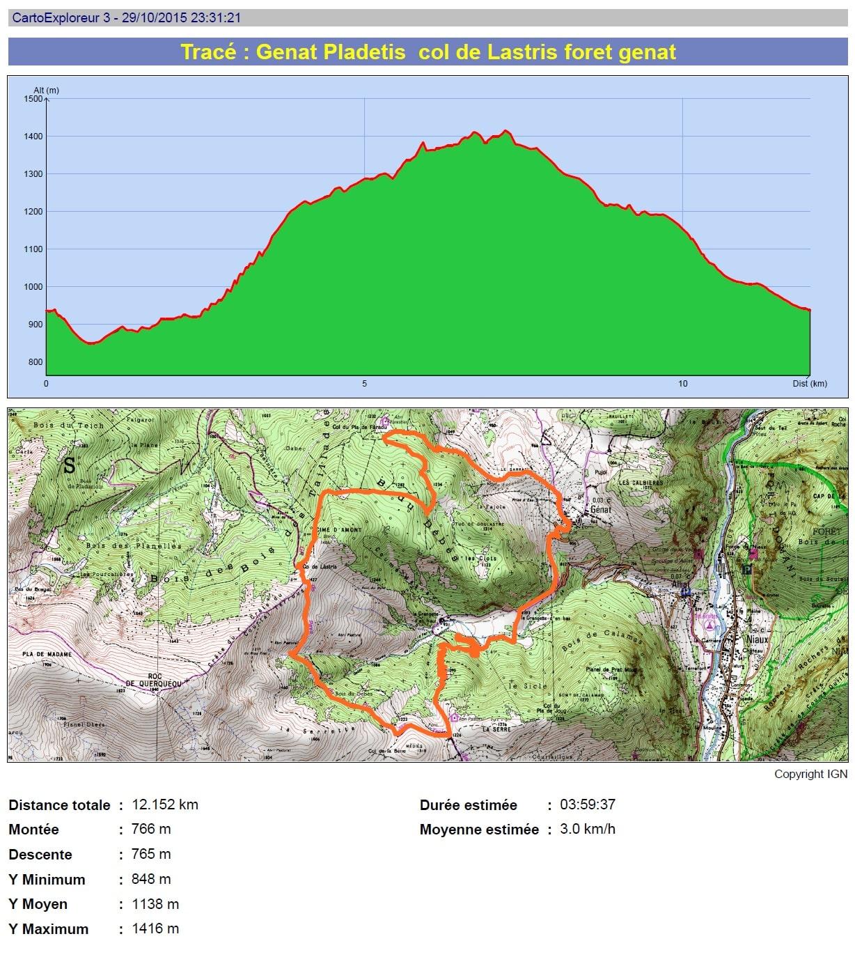 Col de Lastris par les Grangettes : randonnée en haute-Ariège