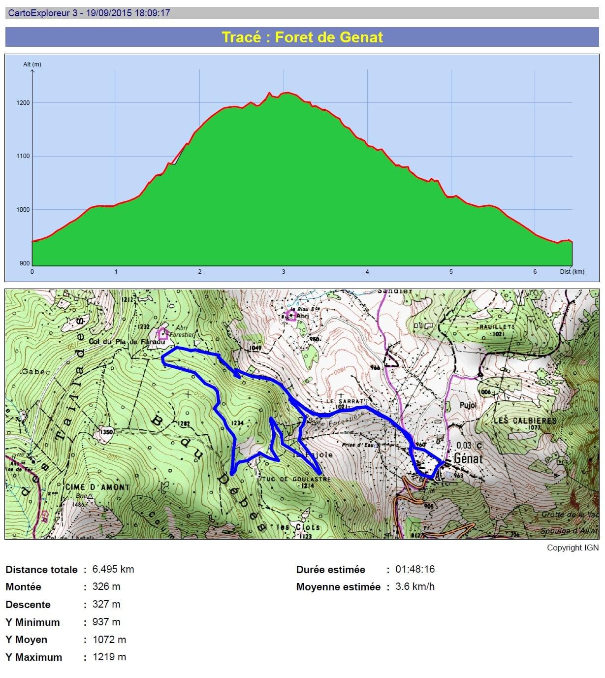 La forêt de Génat : randonnée en haute-Ariège