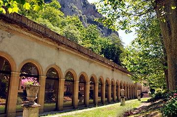 Thermes d'Ussat en haute-Ariège