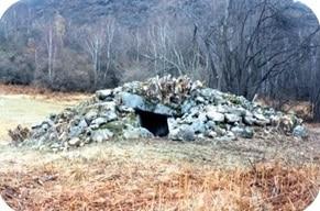 Le dolmen de La Plagne