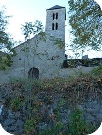 L'église de Génat et son clocher