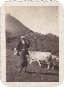Un pâtre en 1938