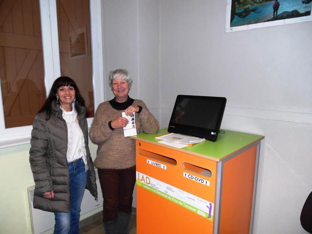 Bibliothèque de Génat en haute-Ariège