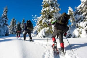 raquettes à neige Ariège
